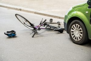 Cambridge Bicycle After Accident On The Street
